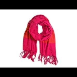 Pink Striped Scarf (A12-26-3)